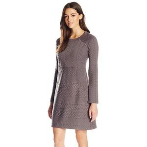 EUC PrAna Macee Dress in Truffle S